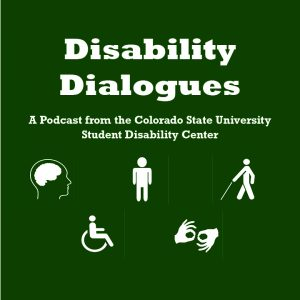 Disability Dialogues Podcast Logo